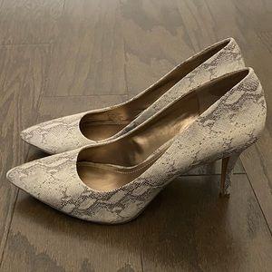 BCBG Paris Shoes - BCBG PARIS Day Taupe Gaminkha Pumps